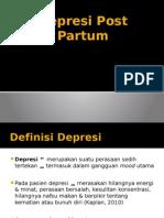 PPT Depresi Post Partum