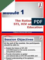 Module 1 (Rationale)