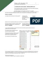 Tabular Cuestionarios en Excel