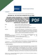 INFORME - I CONVENCIÓN MACRORREGIONAL - PODER DISCIPLINARIO