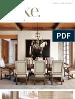Luxe Interiors + Design Magazine, Spring 2010