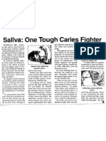 Saliva One Tough Caries Fighter