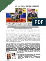 Caso 11 de Abril 2002. Venezuela. Preso politico Luis Molina Cerrada