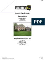 Enlighten Home Inspections, LLC - Sample Website Report