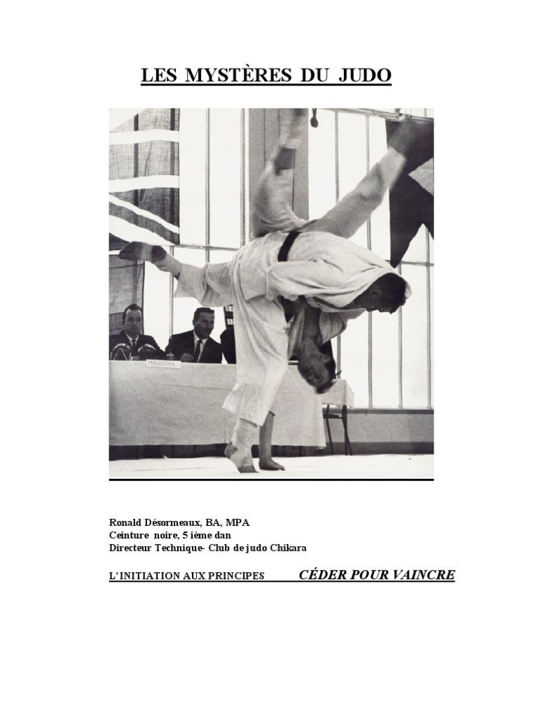Les Mystères du judo 7c91b4b81d9
