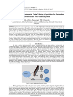 An Approach of Automatic Data Mining Algorithm for Intrusion
