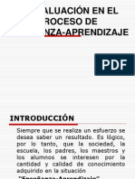 EVALUACION DEL PROCESO DIDACTICO (informe).ppt