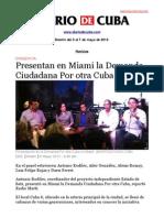 Boletín de Diario de Cuba | Del 3 al 7 de mayo de 2013