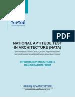 NATA 2013 - Information Brochure