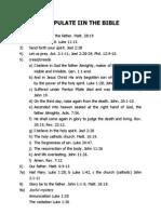 Chapulate Iin the Bible