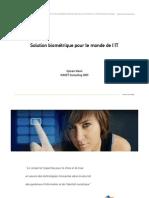 Solution biométrique pour le monde de l'IT