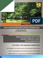 Master Plan Rth - Peta Hijau-p2kh-Aceh