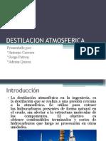 DESTILACION ATMOSFERICA