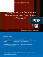 Integracion de Fracciones Parciales