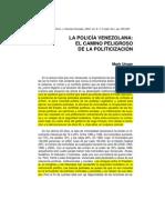Mark Ungar LA POLICÍA VENEZOLANA