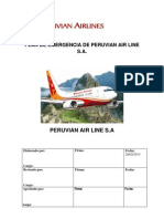 Plan de Emergencia Peruvian Airlines
