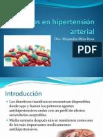 Diureticos en hipertensión arterial B