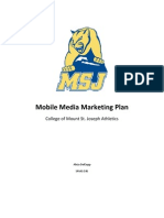 college of msj marketing plan