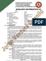 Silabus Analisis Matematico 3 (GUANILO)