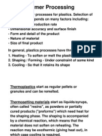 L6 Polymer Processing