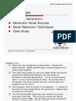 Generator Noise Enclosure Muffler