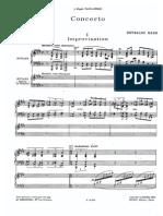 Hahn, Reynaldo - Piano Concerto (2pf)
