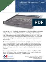 Rackmount Keyboard w/ Trackball - Chassis Plans CKC E Rackmount Keyboard