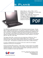 Rackmount 19-inch LCD Keyboard - Chassis Plans CPS219