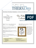 Mothers Day Exod 2-1-10 Handout 051213