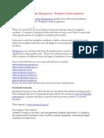 Certificate IV in Frontline Management – Workplace Safety Legislation