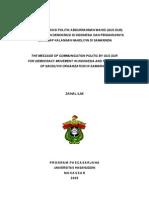 Contoh Makalah Komunikasi Politik 130106071240 Phpapp02(1)