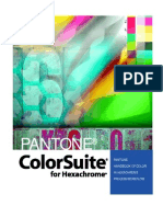 Pantone ColorSuite for Hexachrome - Pantone Handbook of Color in Hexachrome Process Workflow