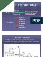 CAPÍTULO 2 - Análise Estrutural - Análise estrutural