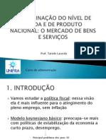 DETERMINAÇÃO DO NÍVEL DE RENDA E DE PRODUTO - VERSÃO MAIS SIMPLES -pdf