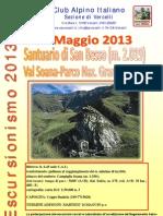 19 maggio 2013 - Santuario di San Besso (m. 2019)