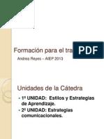 Formacion Para El Trabajo 2013
