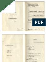 Análise Matemática, Demidovitch