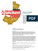 Quicken 2000 Deluxe User's Guide for Macintosh