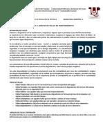 TEMA 3_ ANÁLISIS DE FALLAS EN MANTENIMIENTO