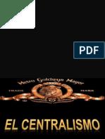 Centralismo en El Peru