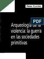 arqueología de la violencia