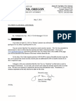 City Attorney Letter Re Social Security Income 130507