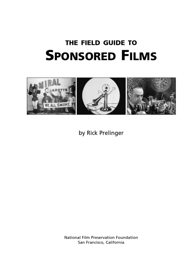 Field guide to sponsored films citation preservation library field guide to sponsored films citation preservation library and archival science fandeluxe Images