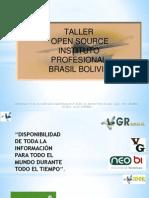 Taller Numero 1 Brasil Bolivia Elastix