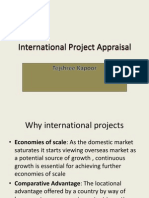 International Project Appraisal