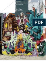 Graffitis, Stencils y Tags