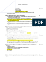 Biology 110 Study Guide 4