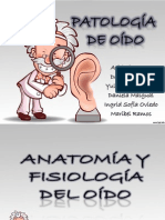 Patologia de Oido Externo
