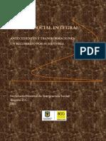 Gestión Social Integral, Antecedentes y Transformaciones