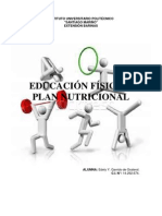 Plan Nutricional Edely Garrido